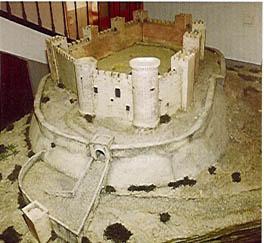 Maqueta Que Reconstruye C  Mo Fue El Castillo Alc  Zar De Elda
